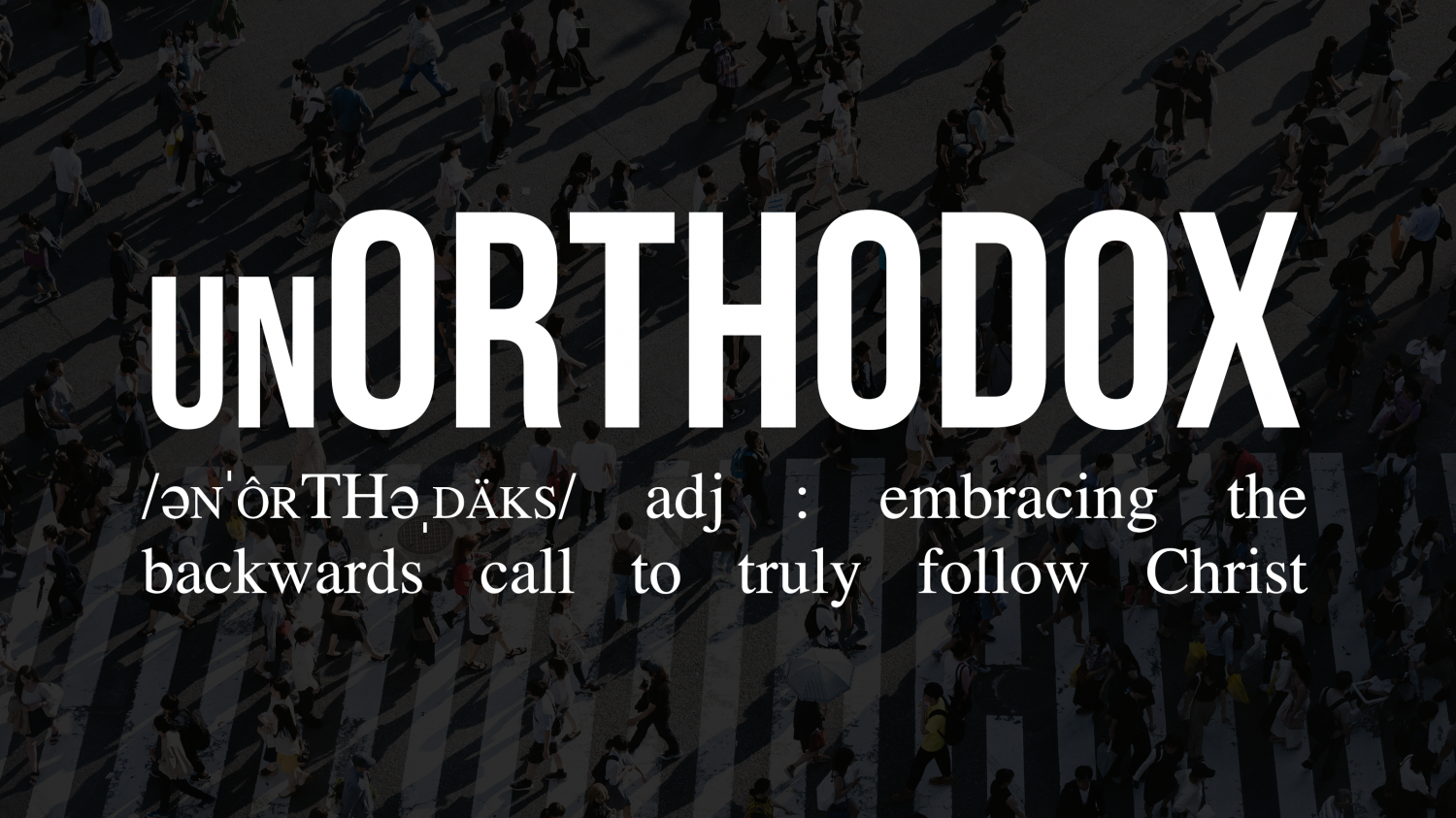 unORTHODOX Conference | Oct 19-20